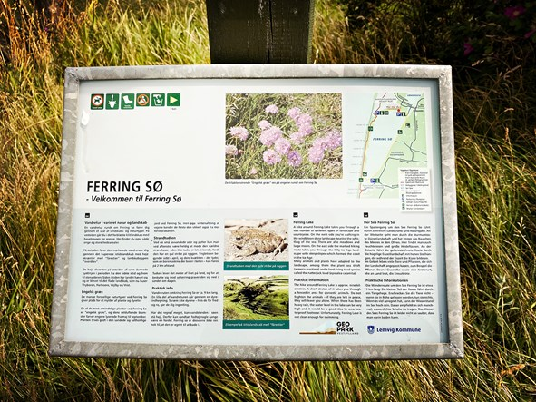 Infotafel am Ferring See