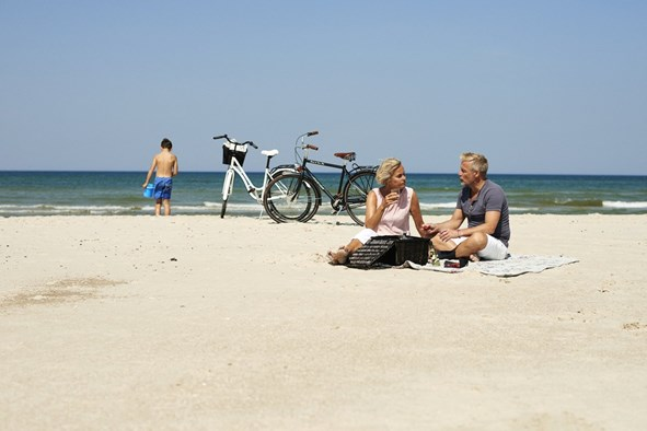 Picknick am Nordseestrand